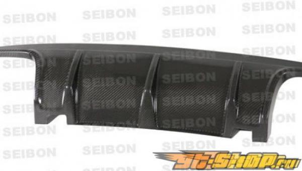 Губа на задний бампер для Subaru Impreza WRX STi 2008-2011 Seibon стандартный Карбон