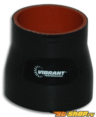 "4 Ply Reducer Coupling, 1.75"" x 2.5"" x 3"" long - Чёрный"