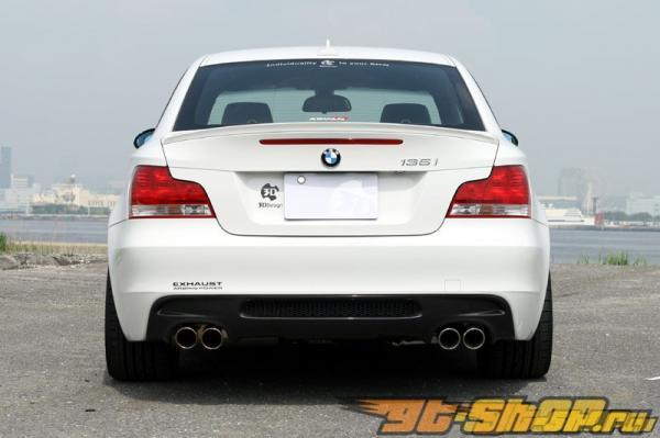 Карбоновая губа на багажник 3D Design на BMW 1 Series E82 M Sport 08+