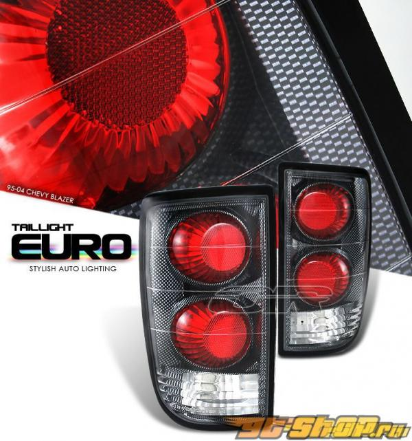 Задние фонари на Chevrolet Blazer 95-04 ALTEZZA Карбон