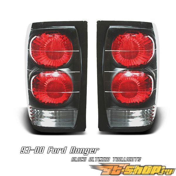 Задние фары для Ford Ranger 93-00 ALTEZZA Чёрный