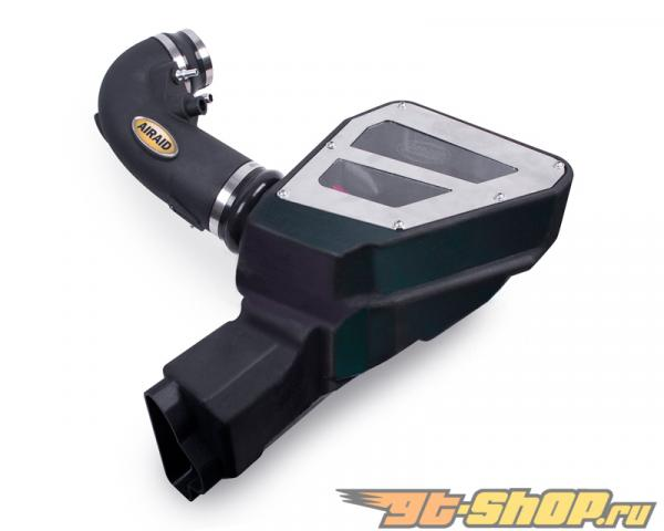 AIRAID MXP Series Cold Air Dam Intake System with SynthaMax Сухой Filter Ford Mustang GT 5.0L V8 2015