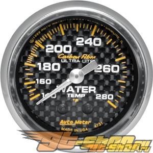 "Autometer Карбоновый 2 1/16"" Mechanical 140-280 Degree температуры жидкости Датчик"