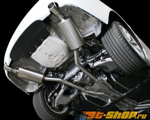 aFe MACHForce XP нержавеющий Steel выхлоп Down Pipe Back System BMW 535i (F10) L6-3.0L (t) 11-12