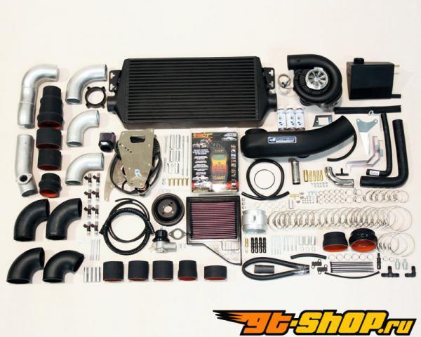 Vortech V-2 T-Trim Tuner Supercharging System w/Intercooler Polished Finish Ford Mustang GT 5.0L V8 11-13