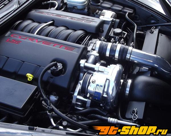 Vortech V-2 T-Trim Supercharging System w/Intercooler Chevrolet Corvette 6.0L V8 06-07