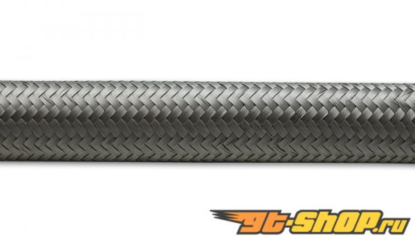2ft Roll of нержавеющий Steel Braided Flex Hose; AN Size: -6; Hose ID 0.34""