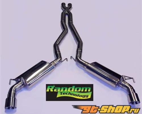 "Random Technology нержавеющий Steel Converter Back System (2-1/2"")Subaru Impreza 2.5L 02-05"