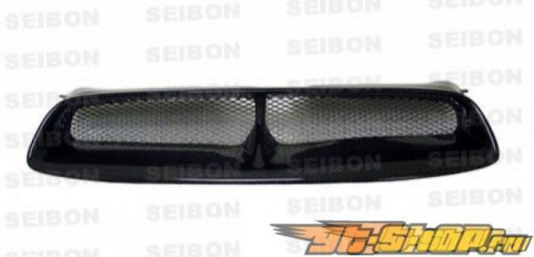 Карбоновая решётка радиатора CW Стиль на Subaru WRX STi 04-05