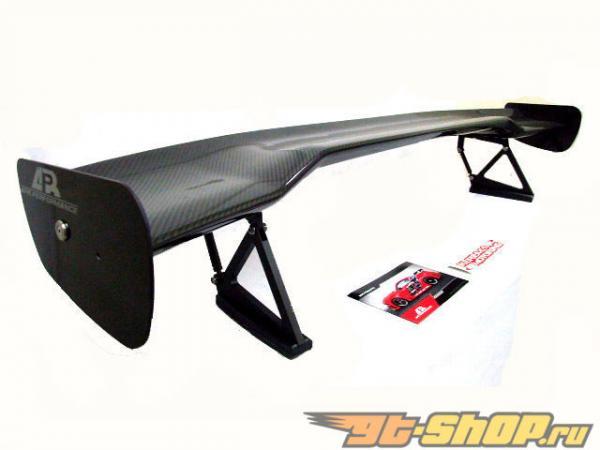Универсальный высокий карбоновый спойлер 170см, 67 дюймов, APR GTC-300