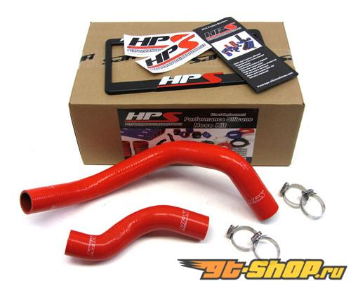 HPS Silicone силиконовые патрубки Красный для Nissan 89-98 240SX with SR20DET