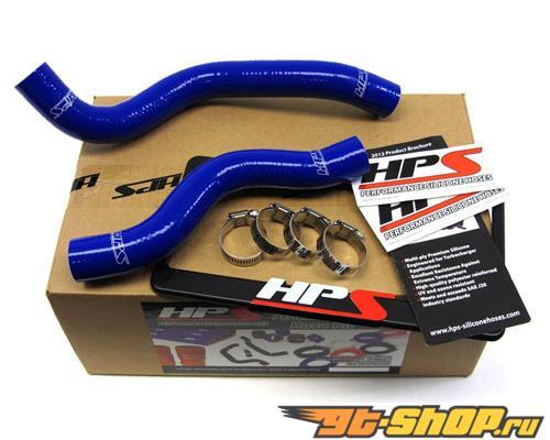HPS Silicone силиконовые патрубки Синий для Honda 12-13 Civic Non Si 1.8L