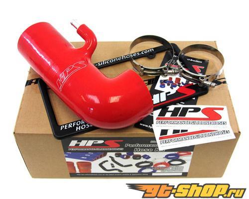 HPS Silicone Post MAF Air Intake Hose Красный для Subaru 2013 BRZ - delete stock sound tube