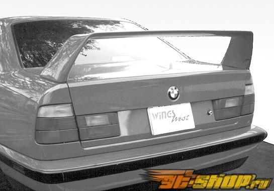 Спойлер для BMW E34 1989-1996 F40 No Light