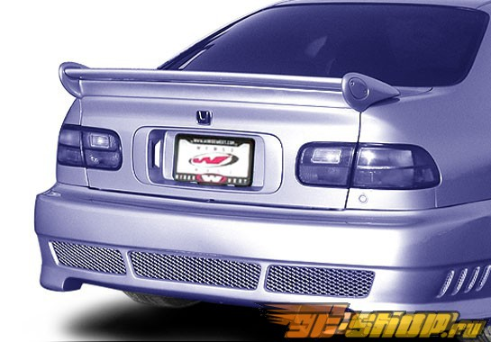 Спойлер на Honda Civic 1992-1995 Commando NO LIGHT