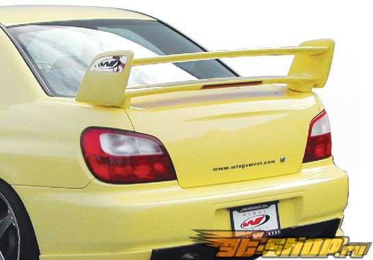 "Спойлер для Subaru Impreza WRX STi 2002-2005 Sky-liner w/15.5"" LED Light"
