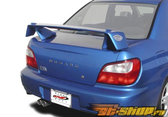 "Спойлер на Subaru Impreza WRX STi 2006-2007 Rally w/15"" LED Light"