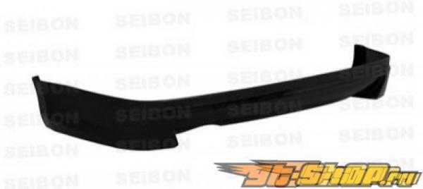 Губа на задний бампер для Nissan 350Z 2002-2008 Seibon AS Карбон