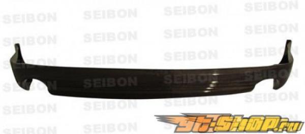 Губа на задний бампер Seibon TS Карбон