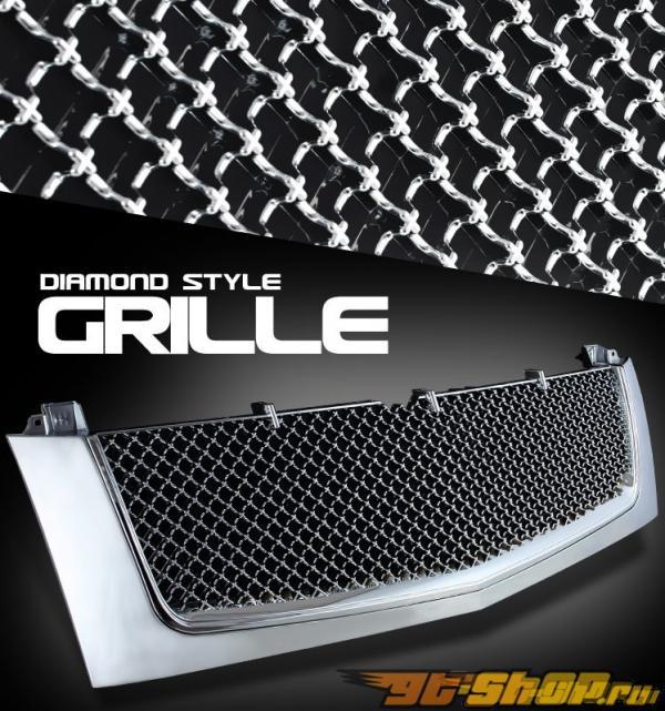 Решётка радиатора для Cadillac Escalade 02-06 Хром