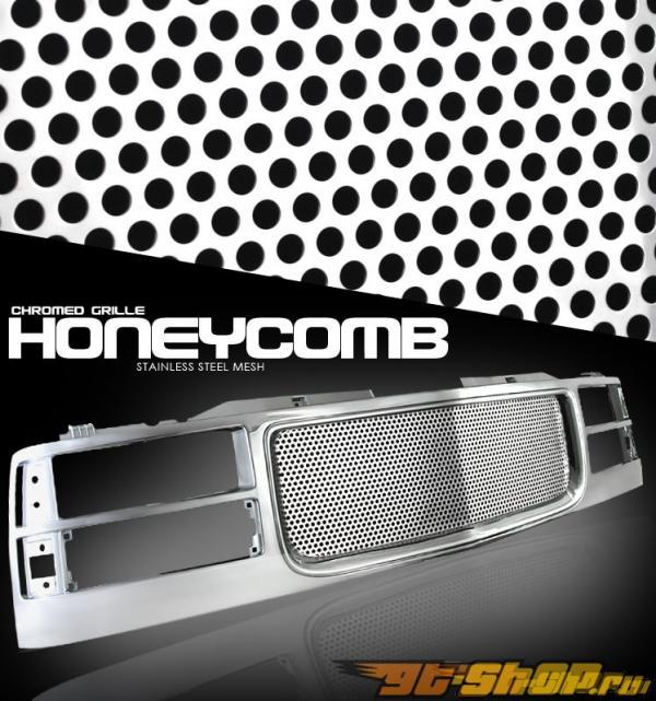 Хромированная решётка радиатора Punch Hole Стиль для GMC Fullsize 1994-1998