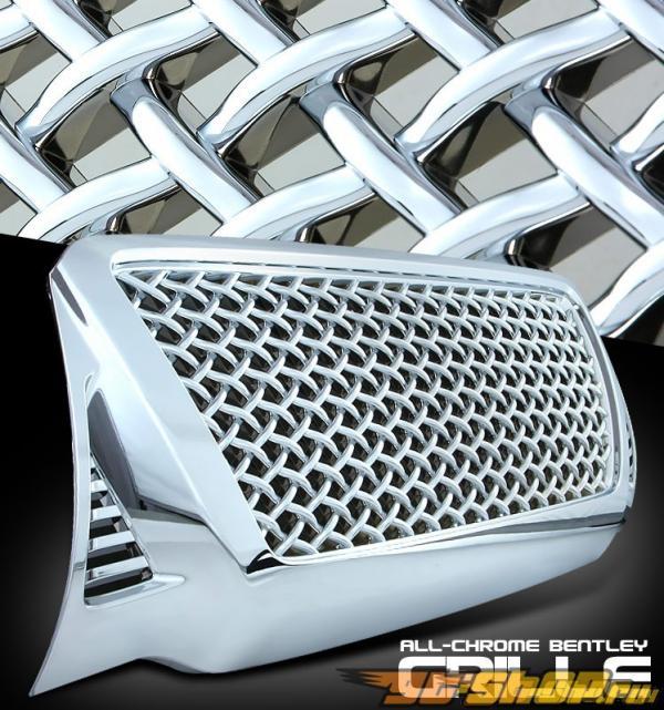 Хромированная решётка радиатора Bentley Стиль на Toyota Tacoma 2007-2011