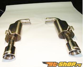 "Kooks 2 1/2"" Axle-Back выхлоп w/4"" Slash Cut Tips Cadillac CTS-V 6.2L LSA 09-12"
