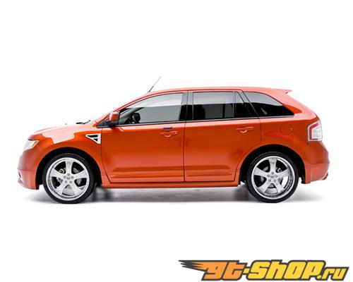 3dCarbon Левый Side Skirt Ford Edge 07-10