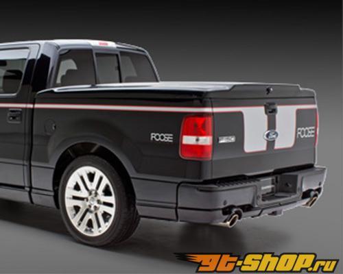 3dCarbon задний Lower Skirt Trailer Hitch Cover Dual выхлоп Ford F-150 06-08