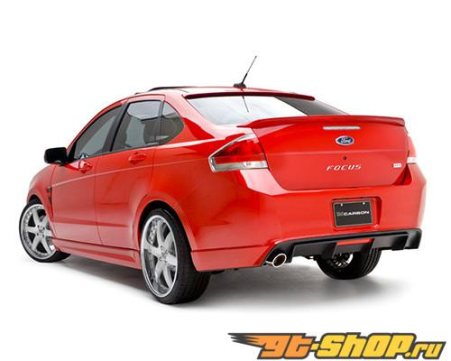 3dCarbon задний Lower Ford Focus Sporty Ses 4 Двери 10-11