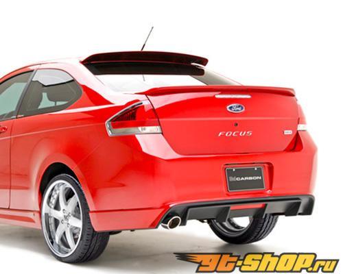 3dCarbon задний Lower Ford Focus 2 Двери 09-11