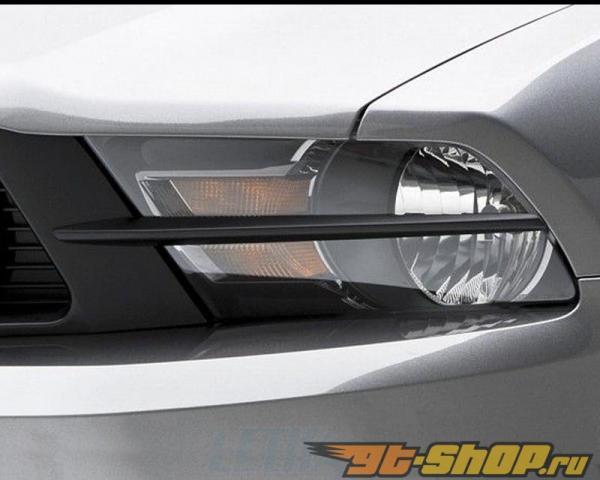 3dCarbon передние фары Splitters Ford Mustang GT 10-12