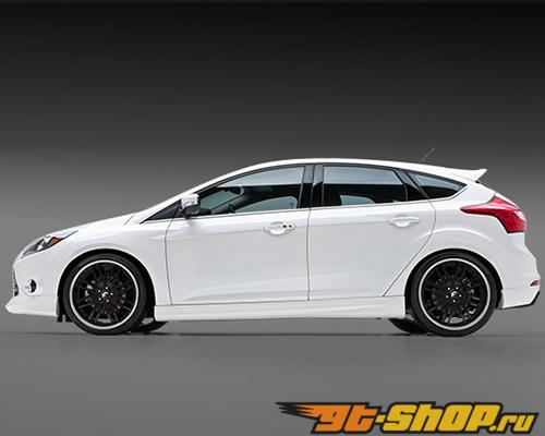 3dCarbon Левый Side Skirt Ford Focus 11-13
