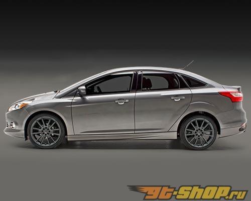 3dCarbon 5PC Полиуретан Аэродинамический обвес Ford Focus 11-14