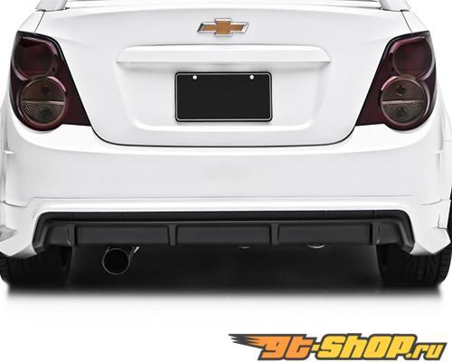 3dCarbon задний Lower диффузор Chevrolet Sonic седан 2012-13
