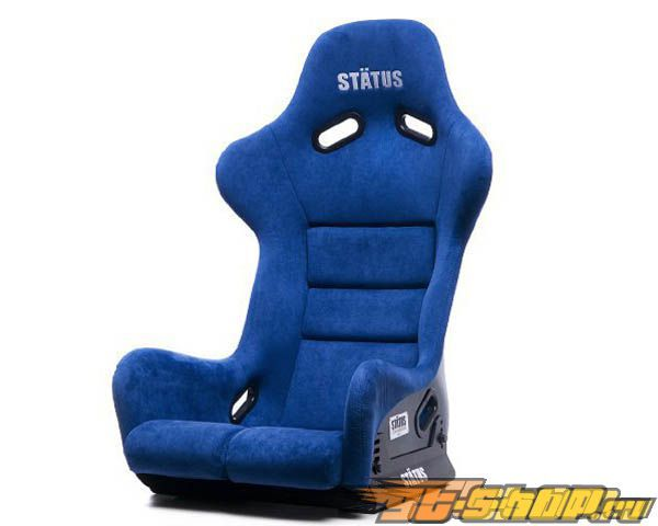 Status Racing Standard Ring GT Bucket Сидения Чёрный FRP Alcantara