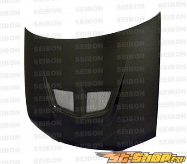 Карбоновый капот на Nissan Sentra 00-06 Seibon EVO Стиль
