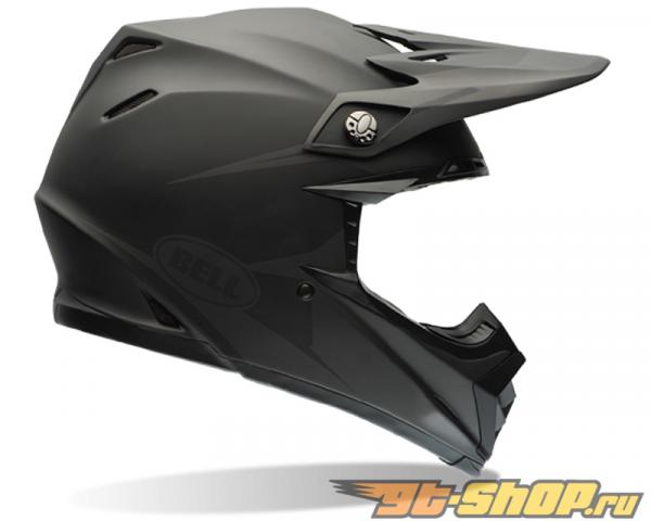 Bell Racing Moto-9 Matte Чёрный Intake Шлем 62-63 | 2XL