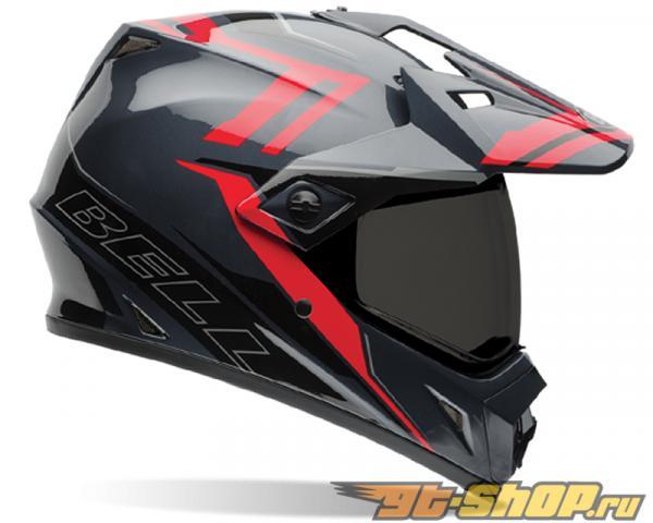 Bell Racing MX-9 Adventure Barricade Красный Шлем 54-55 | XS