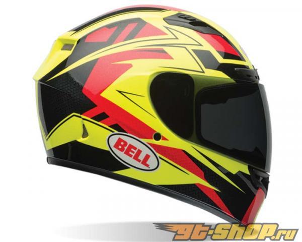 Bell Racing Qualifier DLX  Сцепление  HI-VIZ Шлем 58-59 | LG