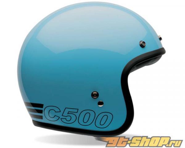 Bell Racing Custom 500 Retro Синий Шлем 54-55   XS