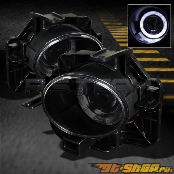 Противотуманная оптика для Nissan ALTIMA 07-09 HALO PROJECTOR HTS LAMPS  Тёмный