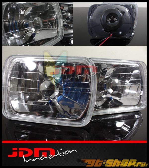 Передняя оптика на Toyota Celica 82-93 JDM Glass Diamond