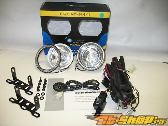 Противотуманные фонари для Toyota Land Cruiser 2007-2011 Halo