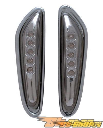 Поворотники для Bmw 3 Series E36 90-99 Anzo Тёмный Titan