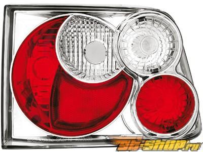 Задняя оптика на Сидения Ibiza 6K 92-99 Design Хром