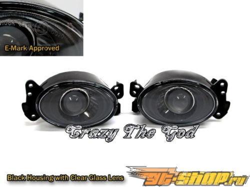 Противотуманная оптика для Mercedes Benz W169 2005-2012 Glass Projector Чёрный