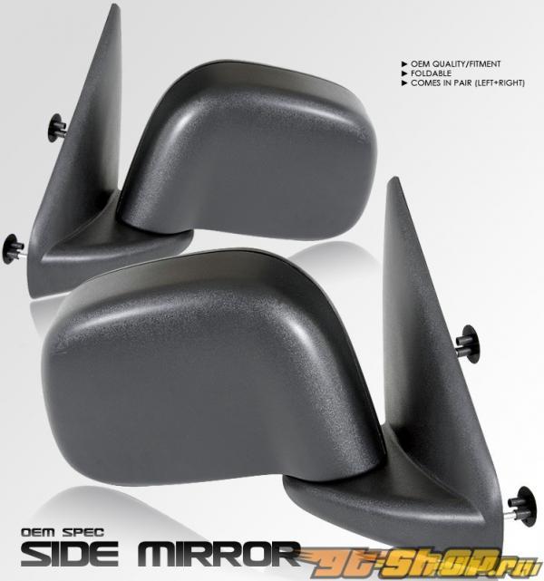 Чёрные зеркала стандартный Стиль на Dodge Ram 2002-2006