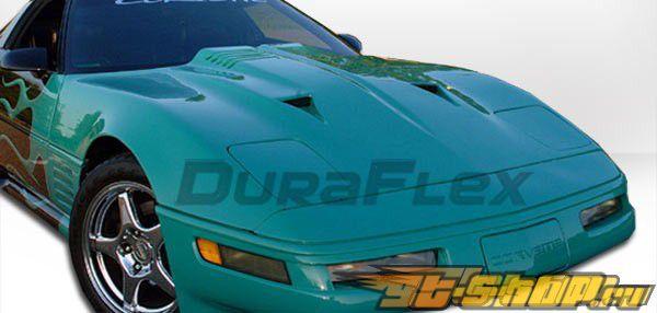 Пластиковый капот на Chevrolet Corvette 1984-1996 Twin Turbo Стиль
