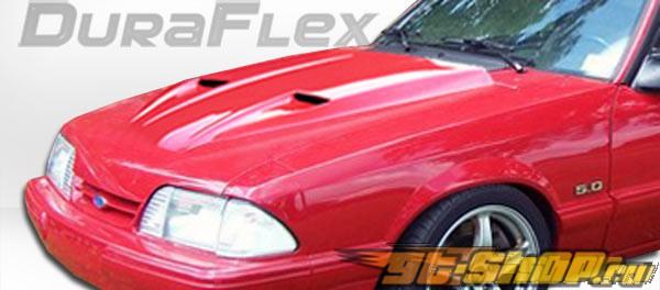 Пластиковый капот на Ford Mustang Mach-1 Стиль